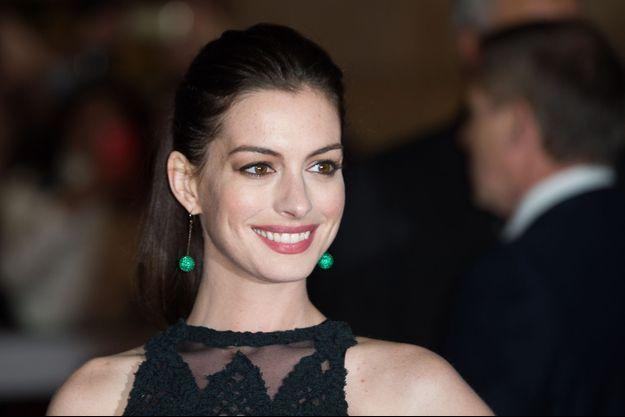 Anne Hathaway en 2014.
