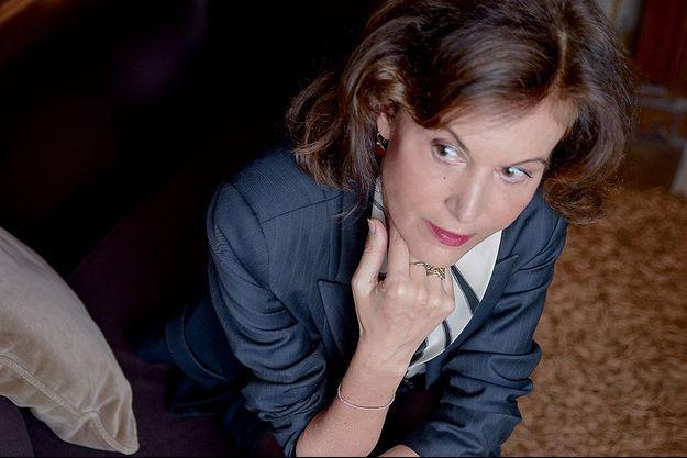 Anne Fontaine pose pour Paris Match.