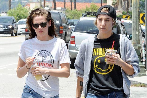 Kristen Stewart et Alicia Cargile à Los Angeles le 6 juin dernier.