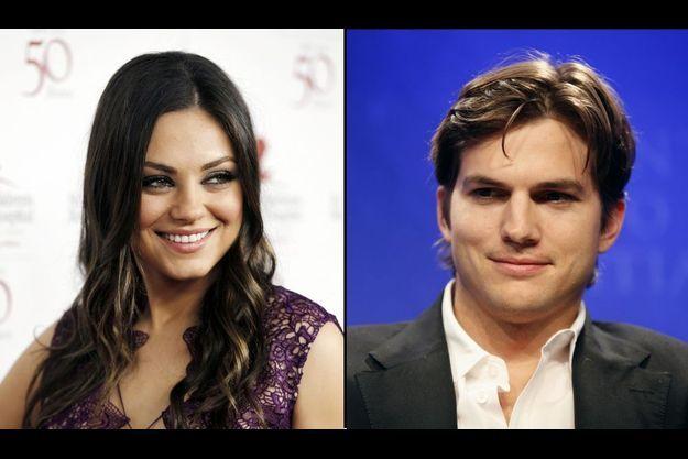 Mila Kunis et Ashton Kutcher multiplient les rendez-vous depuis le début du mois