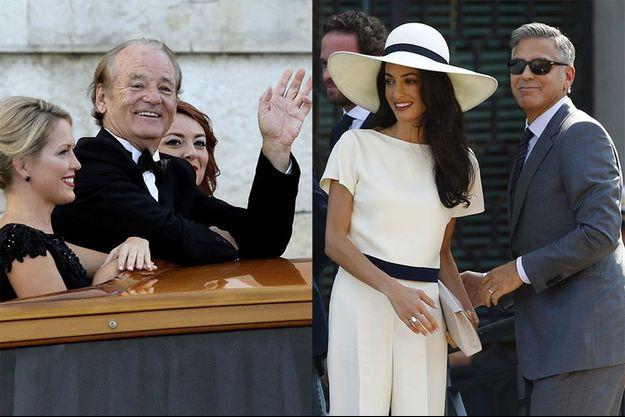 Bill Murray livre ses impressions sur le mariage d'Amal et George Clooney