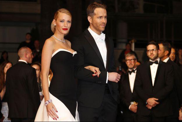 Blake Lively et Ryan Reynolds, à Cannes, en mai dernier.