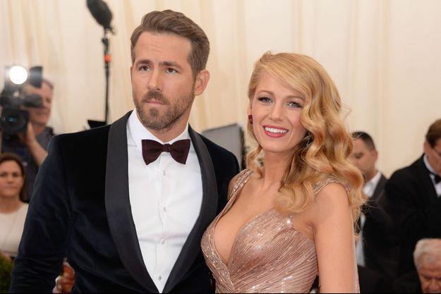 Ryan Reynolds et Blake Lively au Met Ball 2014, à New York.