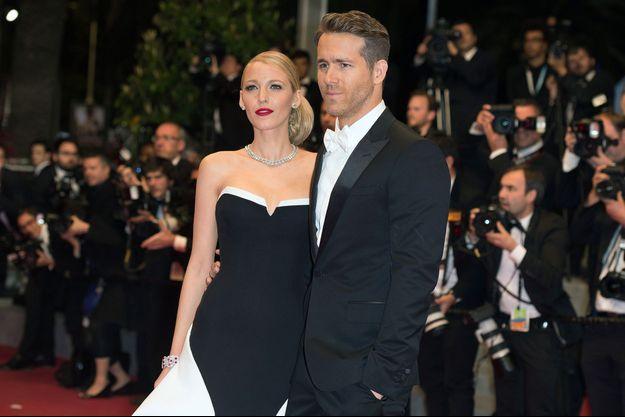 Blake Lively et Ryan Reynolds au Festival de Cannes le 16 mai 2014
