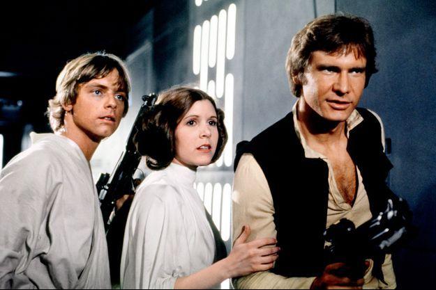 """""""Star Wars, épisode IV : Un nouvel espoir"""", en 1977."""