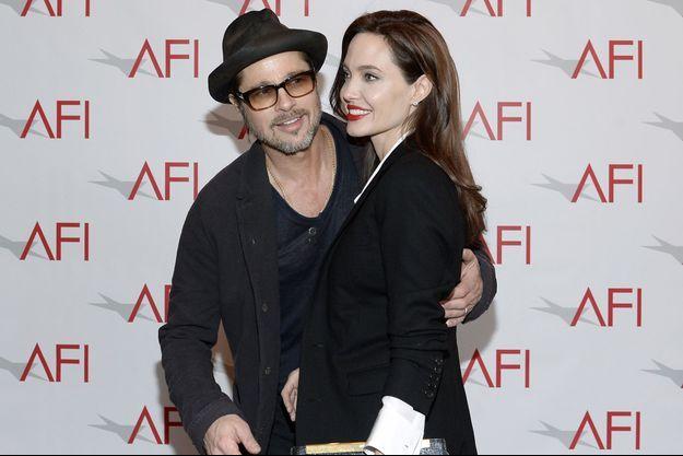 Le couple à Los Angeles en janvier 2015.