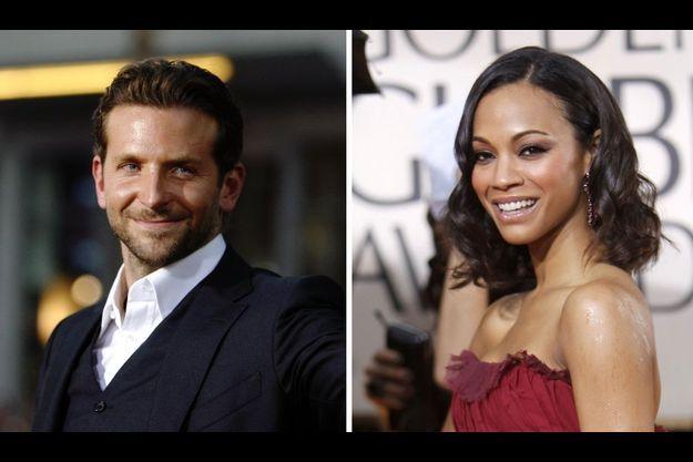 Bradley Cooper et Zoe Saldana seraient à nouveau en couple.