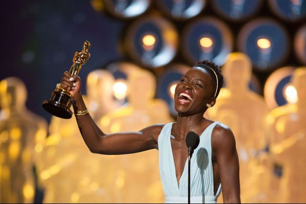 Lupita Nyong'o lors des Oscars 2014