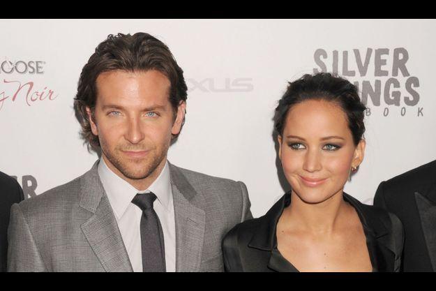 Bradley Cooper et Jennifer Lawrence, lors d'une projection de «Happiness Therapy» à Los Angeles, en novembre dernier.