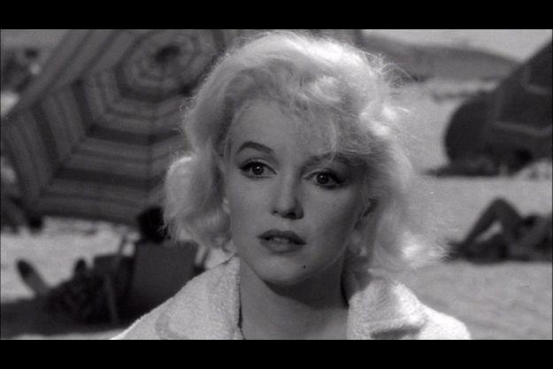 """Marilyn Monroe dans """"Certains l'aiment chaud"""""""