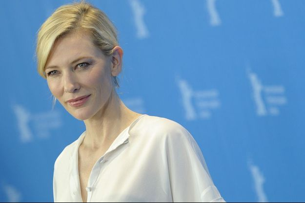 Cate Blanchett en février 2015.