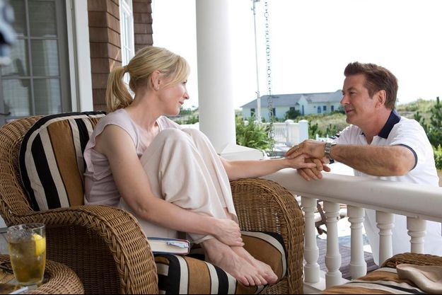 "Cate Blanchett et Alec Baldwin dans ""Blue Jasmine"""