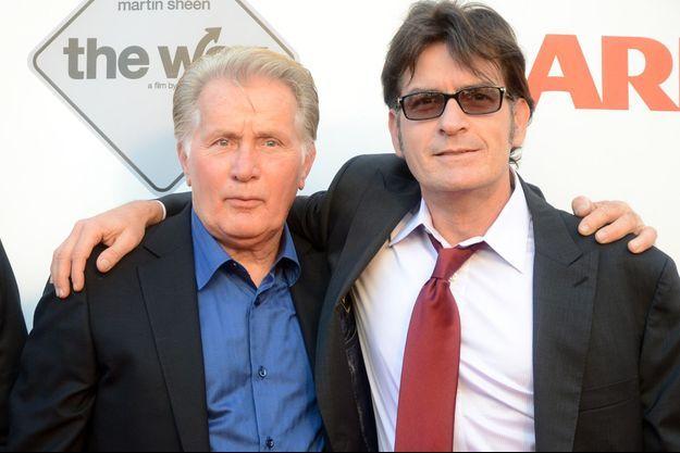 Le père et le fils en 2011.