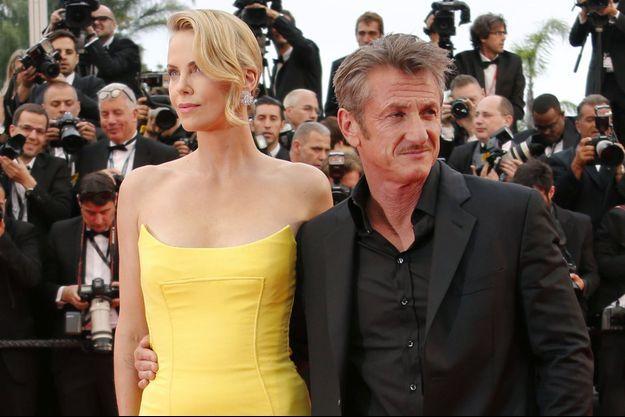 Charlize Theron et Sean Penn au Festival de Cannes, le 14 mai dernier.