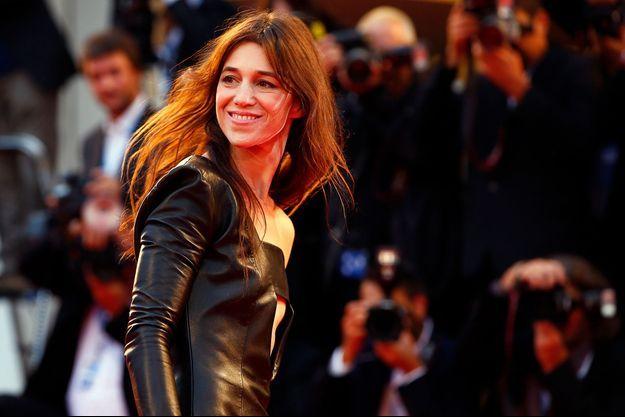 Charlotte Gainsbourg à la 71e Mostra de Venise, le 1er septembre 2014.
