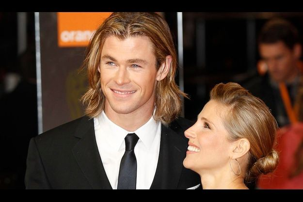 Chris Hemsworth et Elsa Pataky.