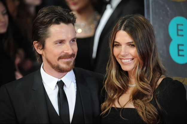 Christian Bale et Sandra Blazic au London Royal Opera House, le 16 février 2014, à Londres, au Royaume-uni.