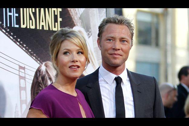Christina Applegate et Martyn LeNoble en 2010.