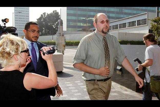 Christopher Chaney arrivant au tribunal, le 1er novembre dernier.