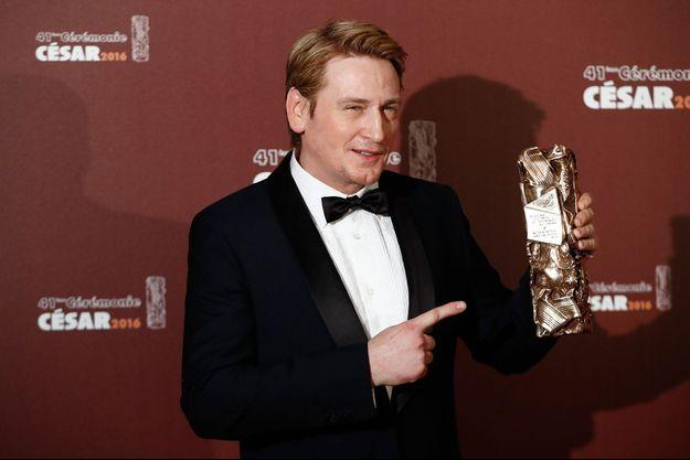 Benoit Magimel lors de la 41e édition des César le 26 février 2016.
