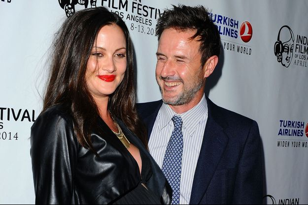 David Arquette et sa future seconde épouse.
