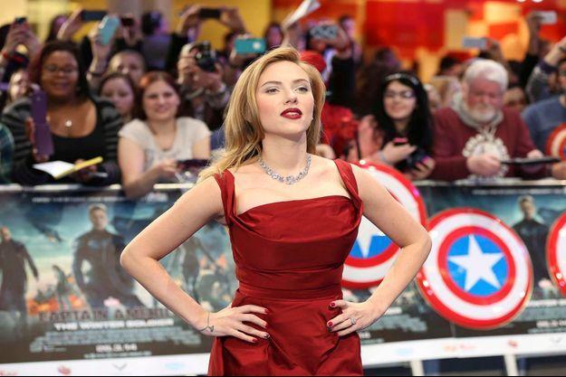 Scarlett Johansson en mars dernier.