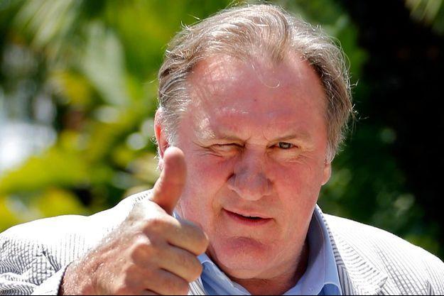 Gérard Depardieu, à Nice le 6 juin dernier.