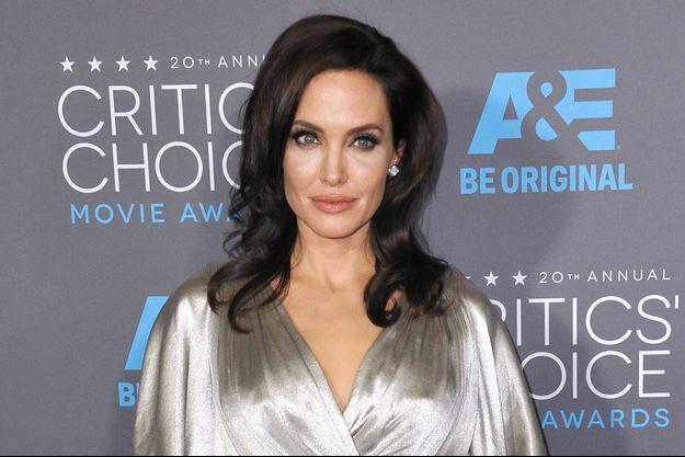 Angelina Jolie à Los Angeles le 15 janvier dernier
