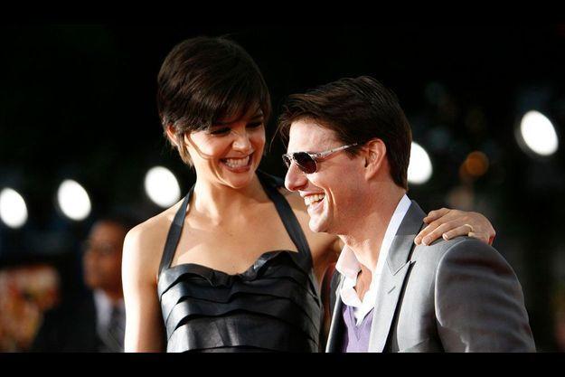 Tom Cruise et Katie Holmes.