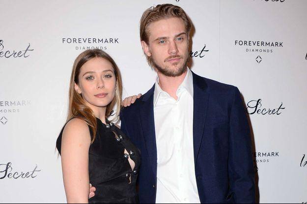 Elizabeth Olsen et Boyd Holbrook à Los Angeles le 6 février 2014