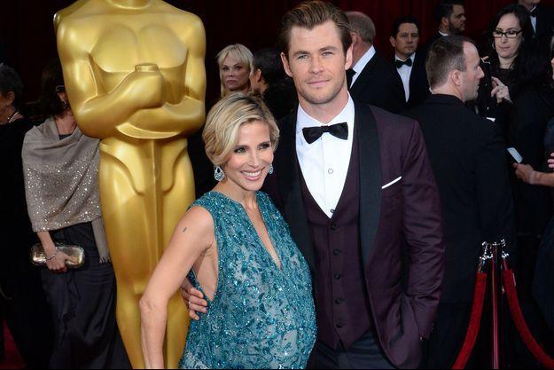 Elsa Pataky et Chris Hemsworth aux Oscars, au début du mois.