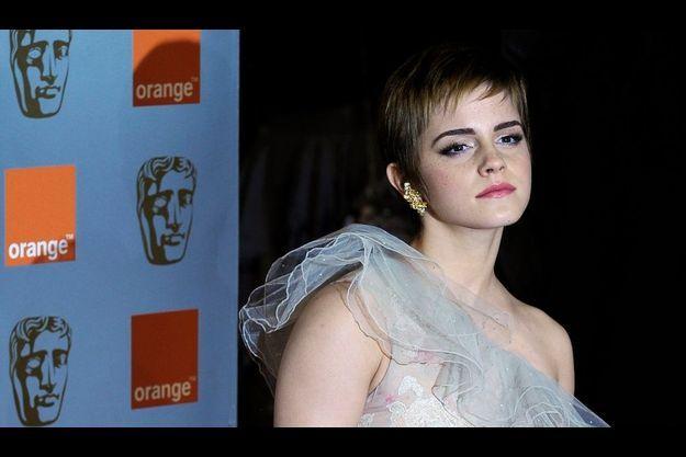 Emma Watson aux Bafta, en février dernier.