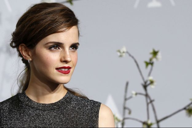 Emma Watson en mars dernier, lors de la cérémonie des Oscars.