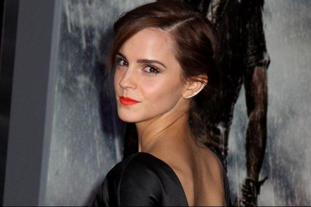 Emma Watson à la première new-yorkaise du film Noé, New York, mars 2014