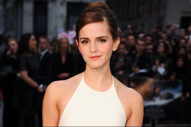 """Emma Watson à l'avant-première du film """"Noé"""" à l'Odeon Leicester Square, à Londres le 31 mars 2014."""