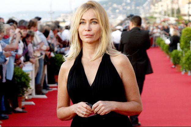 Emmanuelle Béart au Festival de Cabourg en juin dernier.