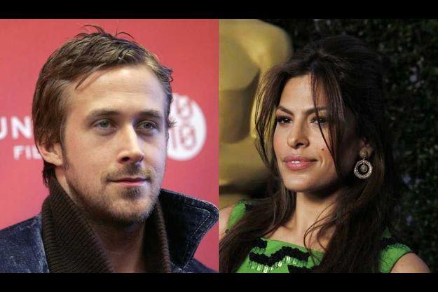 Ryan Gosling et Eva Mendes.