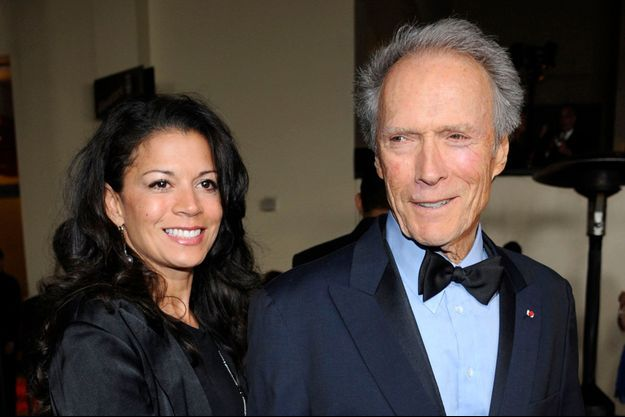 Dina et Clint Eastwood en 2011.