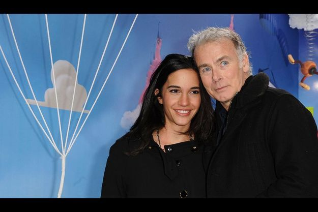 Franck Dubosc et son épouse, Danièle.
