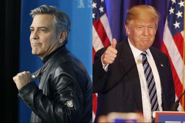 """George Clooney: """"Trump est un fasciste xénophobe"""""""