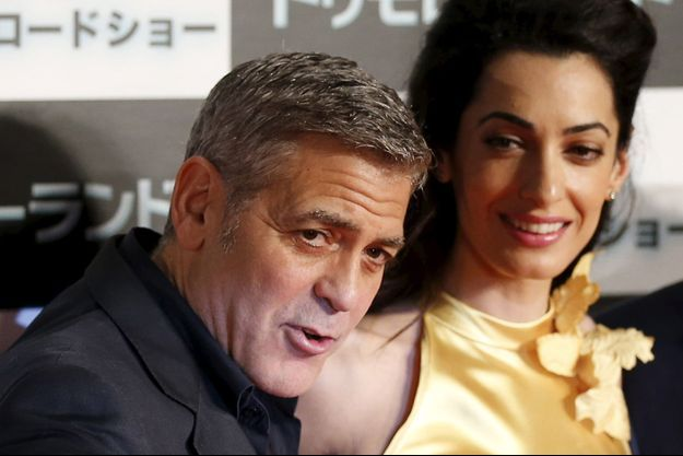 George et Amal Clooney à Tokyo en mai dernier.