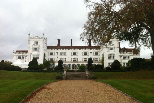 Danesfield House, à Marlow, où George et Amal Clooney célébreront une nouvelle fois leur mariage avec la famille de la mariée.