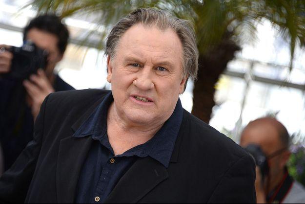 Gérard Depardieu à la 68e édition du Festival de Cannes, en mai dernier.