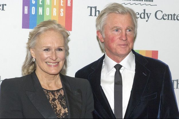 Glenn Close et David Evans Shaw à Washington en 2013.