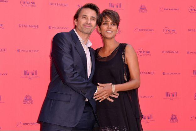Olivier Martinez et Halle Berry, en juin dernier à Paris.