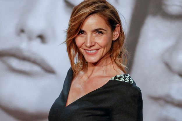 Clotilde Courau à Lyon, le 14 octobre 2014