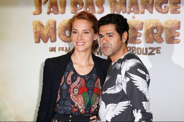 Jamel Debbouze et sa femme Mélissa Theuriau à la première de leur film le 29 mars dernier