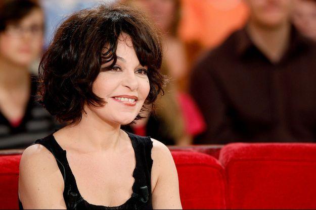 Isabelle Mergault à Paris, le 16 janvier 2013.