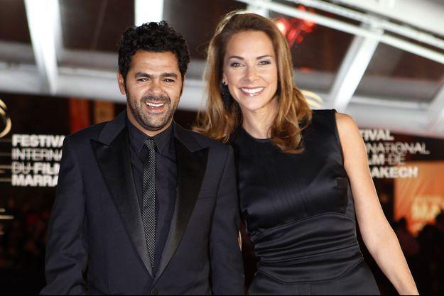 Jamel Debbouze et Mélissa Theuriau à Marrakech le 1er décembre 2013