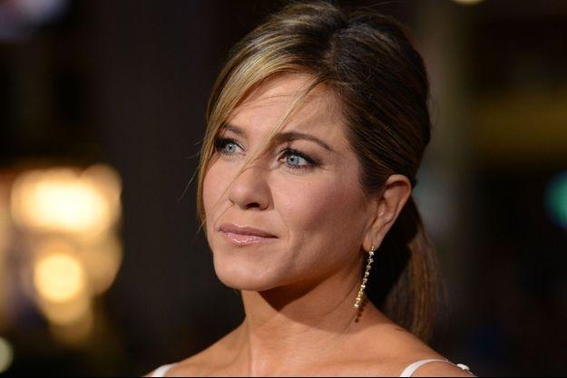 """Jennifer Aniston à l'avant-première de """"Comment tuer son boss 2"""" le 20 novembre dernier"""